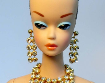 Handmade Fashion doll jewelry set  for Barbie, Reproduction Barbie, Silkstone Barbie and Fashion Royalty NE100031