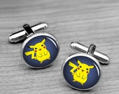 Geekery Cufflinks,Cartoon  Cufflinks,Novelty Cufflinks for Father, Wedding Anniversary Cufflinks,Super Hero cufflinks