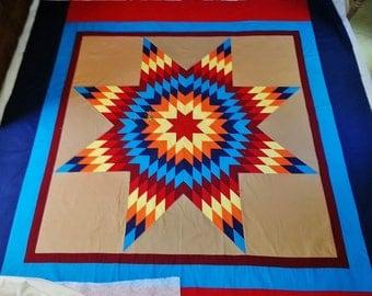 Lakota Star Quilt Etsy