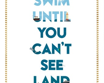 Frightened Rabbit Lyric - Swim Until You Can't See Land