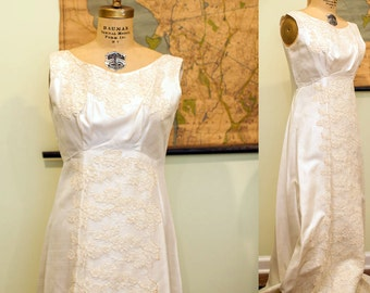 Vintage 60s Wedding Dress