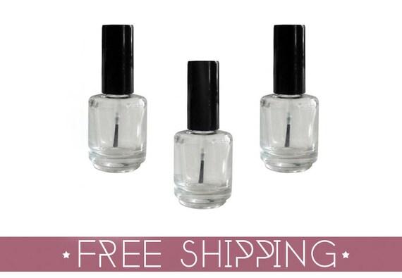 Mini Nail Polish Bottles · 100 (1/8 oz) Bottles · Free US Shipping