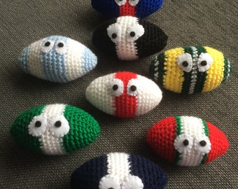 Wales rugby stress ball / hacky sack