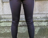 Super Skinny High Waisted Peplum Leggings