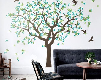 family tree mural etsy uk. Black Bedroom Furniture Sets. Home Design Ideas