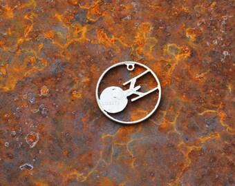 Star Trek Enterprise hand cut coin