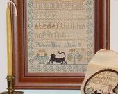 Phebe Allen Sampler - 1817 Leaflet for Counted Cross Stitch - #43L