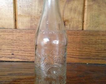 Antique Sun Rise Beverage Bottle