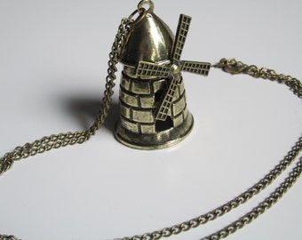 Vintage Windmill Necklace