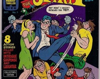 The SPIRIT # 1 WILL EISNER Harvey Comics 1966 Full  Color  Fine-Near Mint