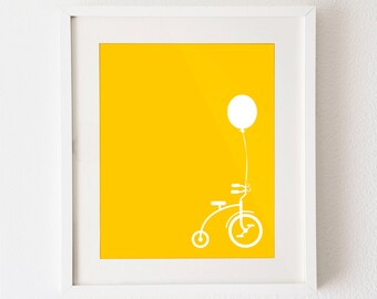 """Tricycle - yellow 