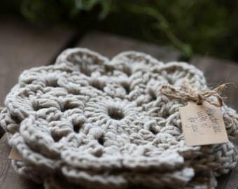 Crochet Coaster, Set of 4