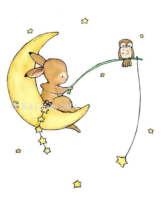 Baby Art -- Starfish -- Art Print