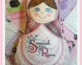 Cloth Doll Russian Style