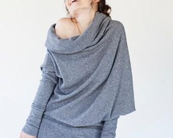 Fashion sweater | Dark gray sweater | Any size sweater | LeMuse fashion sweater