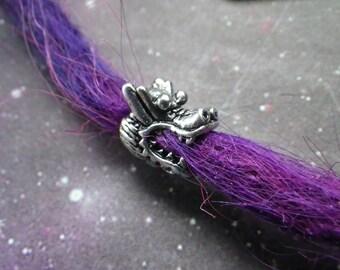 Dragon Head dread bead * FOR SMALL LOCS *