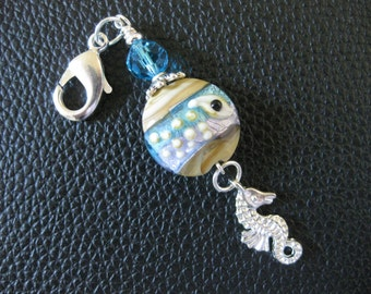 From The Sea Zipper Pull, Purse Charm