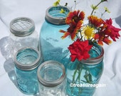 5 Mason Jar Flower Frog Lids Mason Jar Flower Arrangement Wedding Centerpiece, Ball Jar DIY Flowers Garden Flower Vases, No Jars