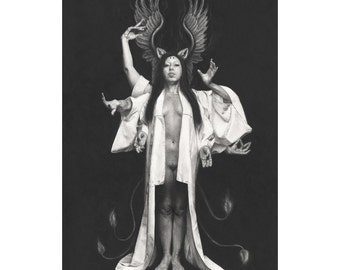 Limited Edition Fine Art Print: Pillars - Satine