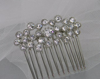 Bridal Hair comb, Crystal hair comb,  Wedding, Hair accessories, Hair clip, Cassie Hair Comb