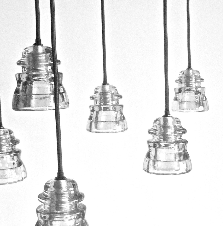 The original antique insulator pendant light by for Antique insulator pendant lights