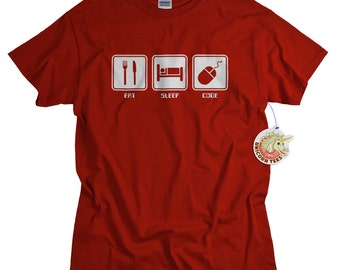 Computer Programmer T shirt computer coder geek tshirt PC HTML data programmer code geekery men women teens birthday gift for boyfriend son