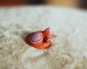 Aura Animal Collection: Red Fox / Lavender Aura / Imagination / Chakras