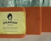 Patchouli & Citrus Speakeasy Soap, vegan, handmade