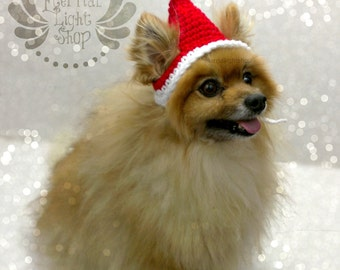 Santa Pet Hat (XS-XL)