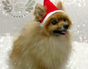 Santa Pet Hat (XS-XL)