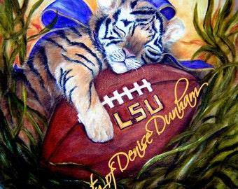 LSU Baby Tiger Art