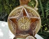 BPOE Centennial Jim Beam Bourbon Decanter w / Tax Stamps Fathers Day Sale
