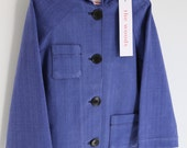 Worker Coat Sz 5 - 6 - Cotton - Jacket - FREE SHIPPING - Sample