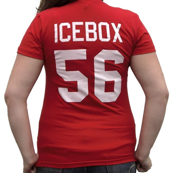 Becky Icebox O Shea  56 Little Giants Jersey T-Shirt Ice Box Costume    Icebox Little Giants Costume