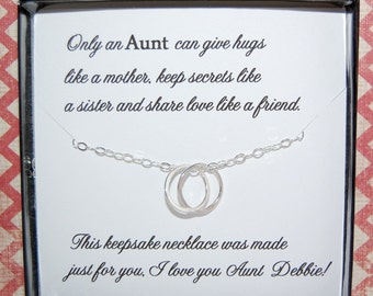 Wedding Gifts For Nephew : gift for aunt gift from niece or nephew aunt poem new aunt gift ...