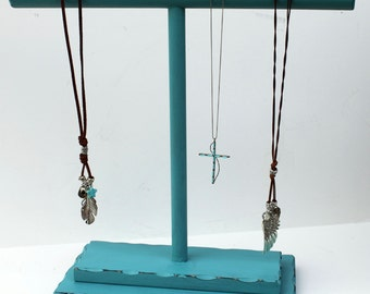 """Necklace display, 13"""" x 15"""" wide, T Bar Necklace Display,   Jewelry Display,"""
