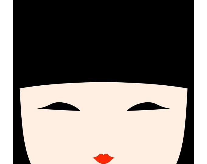 Kokeshi Doll No. 1