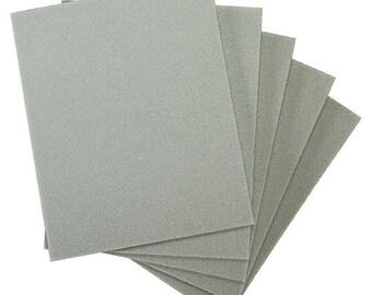 Sanding Sponges, Foam Rubber/Aluminum Oxide 180 grit (Pkg of 5)  (EM6003)