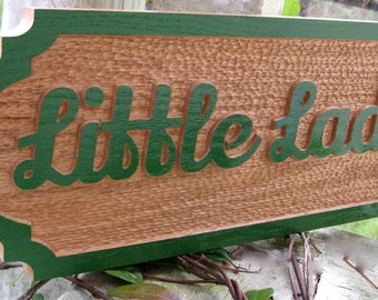 Custom Personalized Horse Stall Sign Solid Red Oak Hand Painted Color of Your Choice Horse Oak Name Plate Stall Door Name Plaque Horse Farm