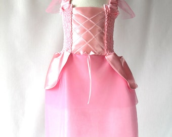 Pink Princess Dress for 1-2 Years, Toddler Dress, Girl's Party Dress, Birthday Outfit