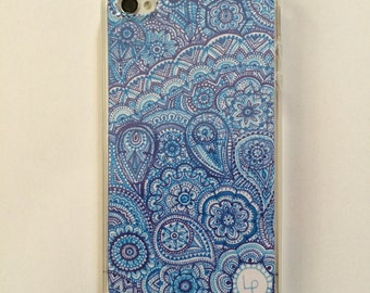 "Phone Case for iPhone 4/4S ""Deep Blue"""