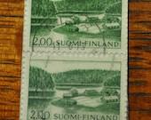 1963 Finnish Stamp Bookmark