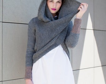 Space Oddity Sweater - multiway convertible piece