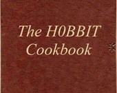 Hobbit Cookbook -  Lord of The Rings recipes - pdf free shipping christmas last minute gift - Harry Potter teen men women