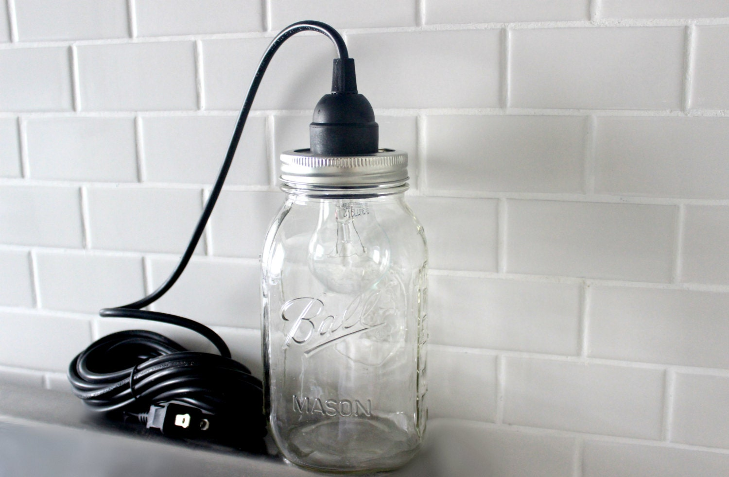 Kitchen Drop Lights Mason Jar Chandelier Etsy