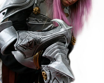 MADE to ORDER - final fantasy XIII Lightning - complete armor goose feather cloak larp cosplay costume warrior knight renaissance