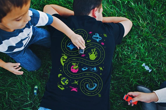 Xl space shirt easter dad gift car play mat shirt grandpa like this item negle Gallery