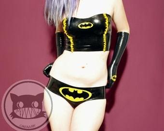 Batgirl latex Panties