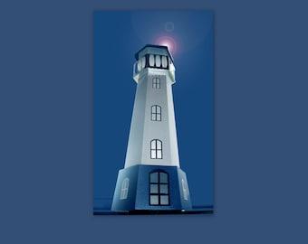 3D SVG Lighthouse tealight holder DIGITAL file