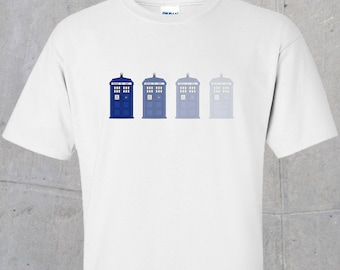 Disappearing Tardis (Dr. Who inspired) Tshirt